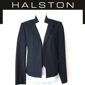 Halston Heritage Black blazer jacket tailored M